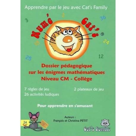 Numé Cat's Enigmes, dossier pédagogique CM