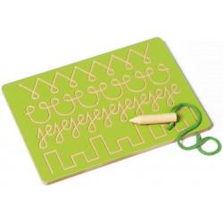 Tablette d'écriture 1 (verte)