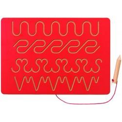 Tablette d'écriture 3 (rouge)