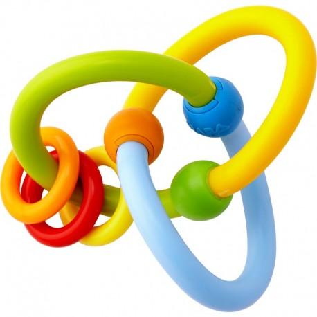 Hochet anneaux