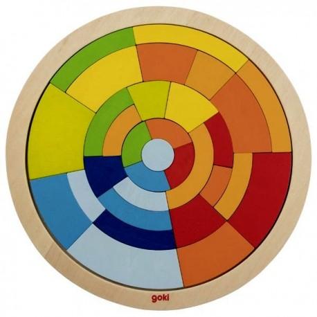 Puzzle en cercle