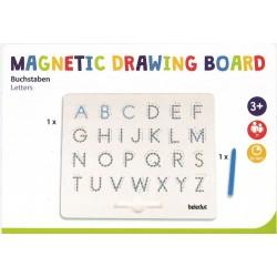 Planche magnétiques lettres majuscules
