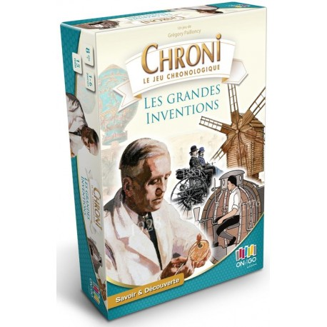 Chronicards, les grandes inventions