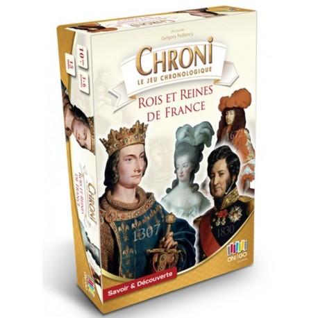 Chronicards, Rois et Reines de France