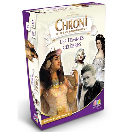 Chronicards, Les femmes célèbres
