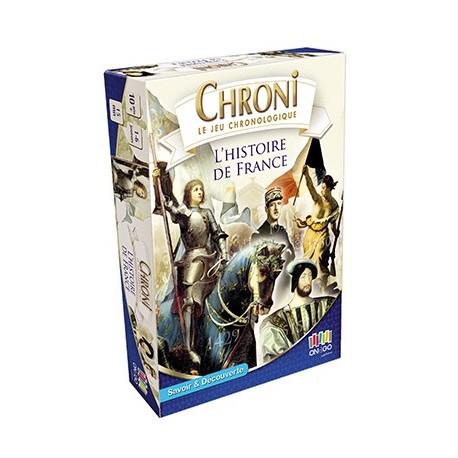 Chronicards, L'histoire de France