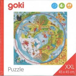 Puzzle XXL les saisons