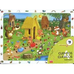 Set 4 puzzles - Les contes