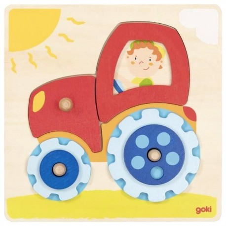 Encastrement et engrenages tracteur