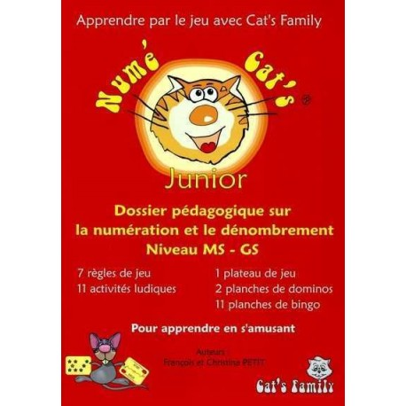 Numé Cat's - Junior, dossier pédagogique MS-GS