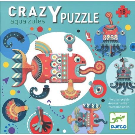 Crazy Puzzle Aqua'zules