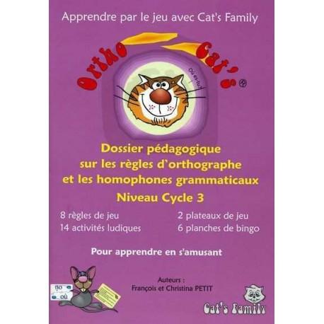 Ortho Cat's 2, dossier pédagogique