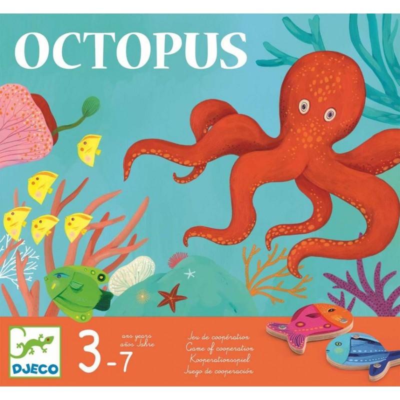 Octopus Un Jeu De Peche A La Ligne Magnetique Et Cooperatif Des 3 Ans