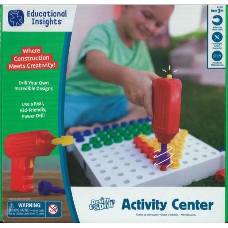 Kit d'activité avec visseuse (Design and Drill)
