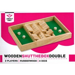Shut the box, double jeu