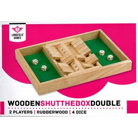 Shut the box, double jeu