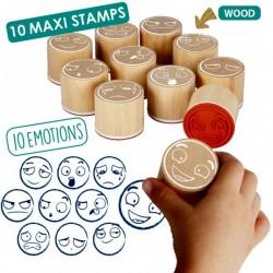 Maxi-tampons des 10 émotions