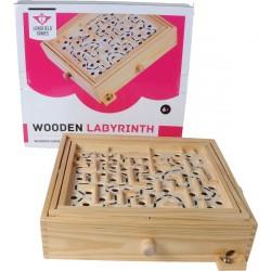 Labyrinthe à bille en bois