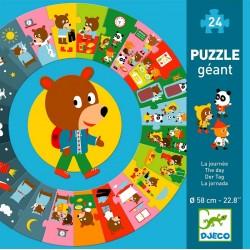 Puzzle géant la journée