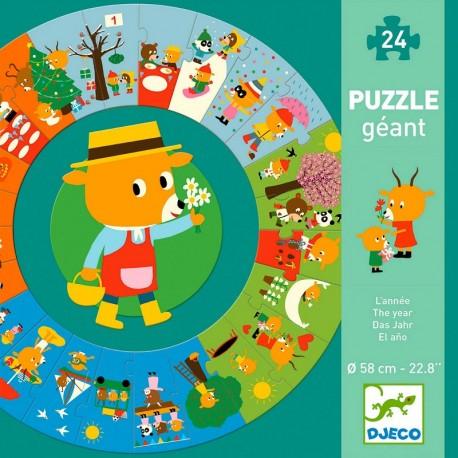 Puzzle géant L'année