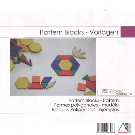 Cahier de modèles pour formes géométriques Attrimath