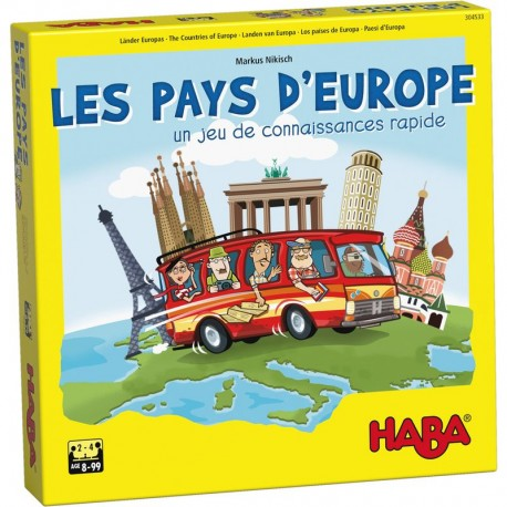 Les pays d'Europe Nouvelle Version