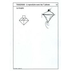 """Fichier 3 """"Tangram jeux et découvertes CP"""""""