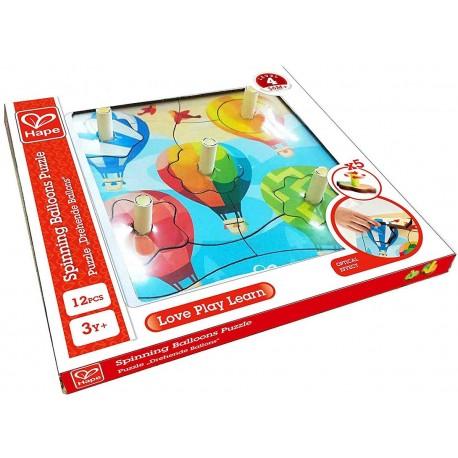 Puzzle toupies montgolfières