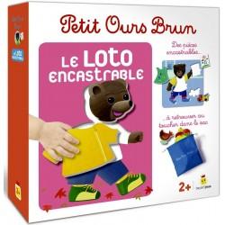 Petit Ours Brun - Loto encastrable