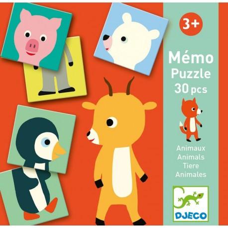 Mémo Animo-puzzle