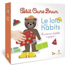 Petit Ours Brun - Loto des habits