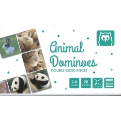 Animal dominoes