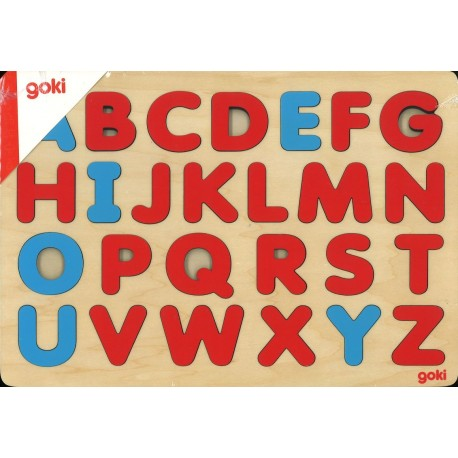 Encastrement alphabet Montessori