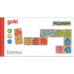 Jeu de dominos 3D ferme