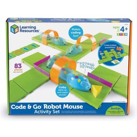 Kit d'activité Souris robot programmable - Code & Go