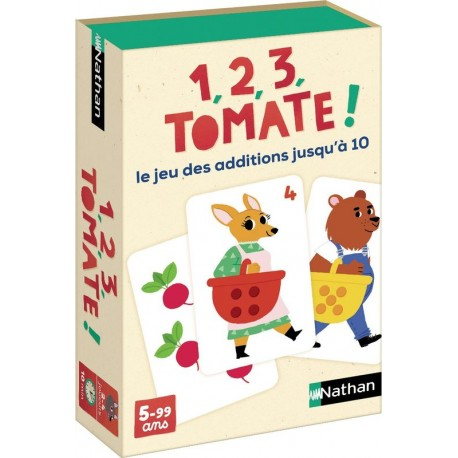 1, 2, 3, tomate !