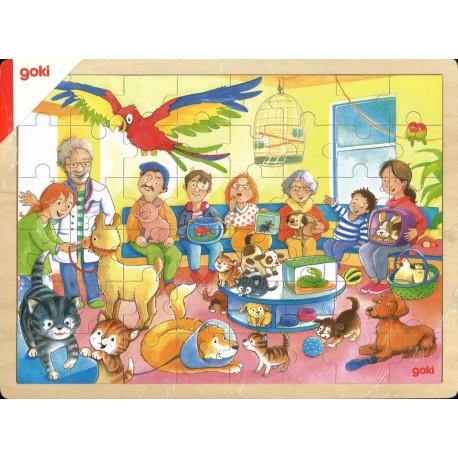 Puzzle Chez le vétérinaire