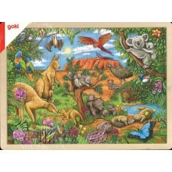 Puzzle Animaux d'Australie