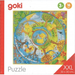 Puzzle XL Une année avec le petit canard