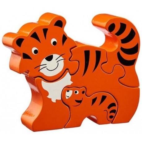 Puzzle maman et bébé tigre