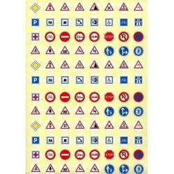 Gommettes code de la route