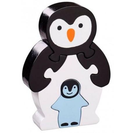 Puzzle maman et bébé pingouin