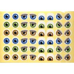 Gommettes yeux