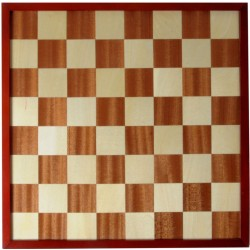 Plateau d'échecs et de dames de luxe