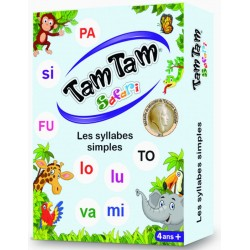 Tam Tam Safari Les syllabes simples