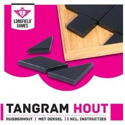 Tangram en bois dans un coffret