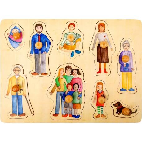 Encastrement famille et amis