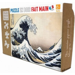 Puzzle La vague de Hokusai