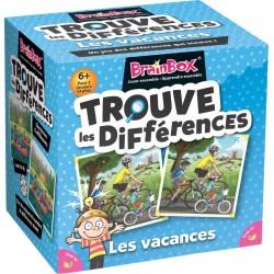 BrainBox Trouve les Différences - Vacances