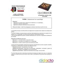 Quoridor - Fiche pédagogique